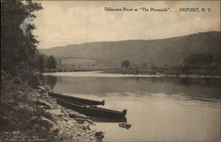 "Delaware River at ""The Riverside"""