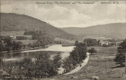 Delaware River, The Riverside, and The Homestead