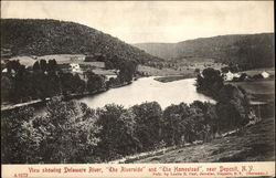 View showing Delaware River, The Riverside, and The Homestead