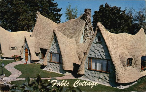 Fable Cottage Victoria Canada British Columbia
