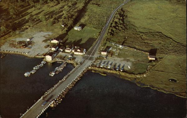 Aerial View of Middlebridge, Inc Narragansett Rhode Island