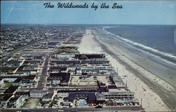 Wildwood Cresta Beach Looking North Wildwood-by-the-Sea New Jersey