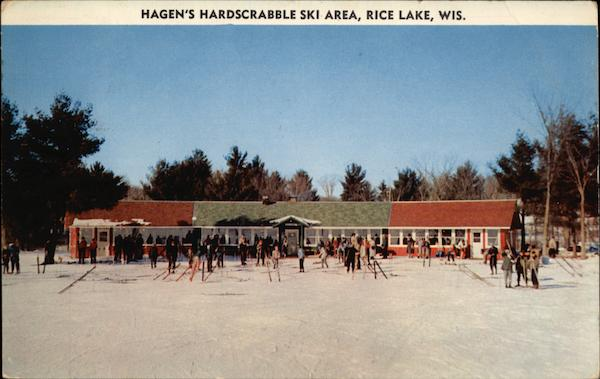 Hagen's Hardscrabble Ski Area Rice Lake Wisconsin