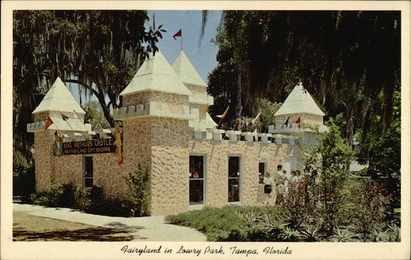 Lowery Park - King Arthurs Castle, Gift Shop Tampa Florida