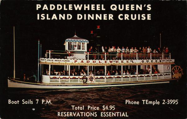 Paddlewheel Queen S Island Dinner Cruise West Palm Beach Fl