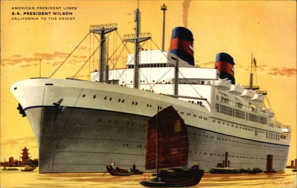 Ss President Wilson Cruise Ships