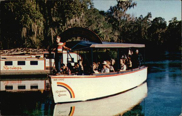River of Rainbows Cruise Dunnellon Florida