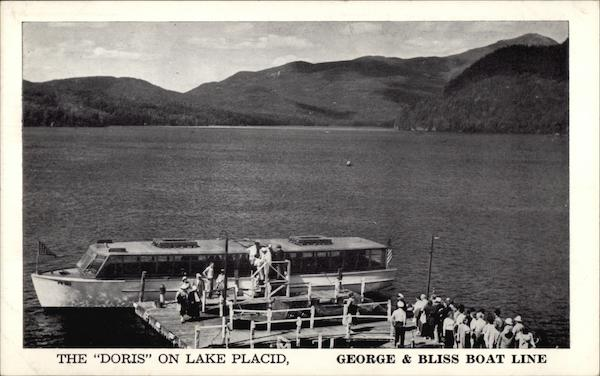The Doris on Lake Placid, George & Bliss Boat Line