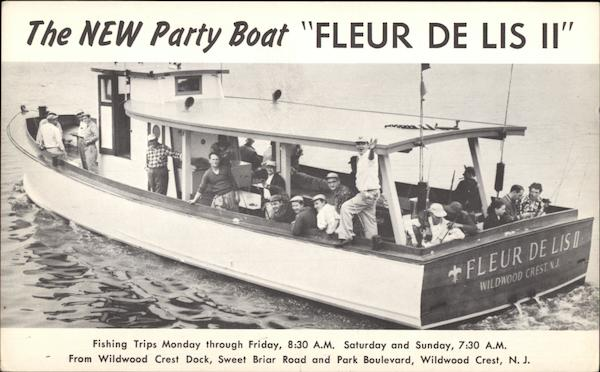 The New Party Boat Fleur de Lis II Hunting