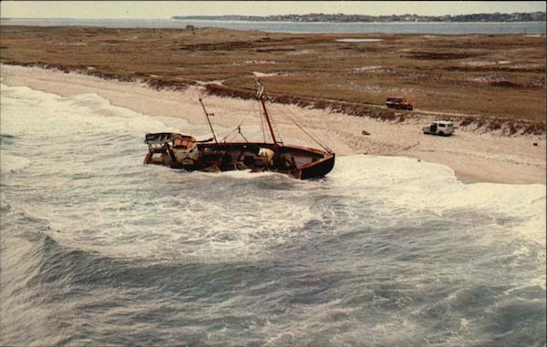 Shipwreck of the Glen and Maria Cape Cod Massachusetts