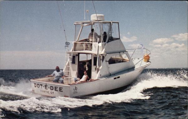 Dot e dee niantic ct for Fishing charters ct niantic