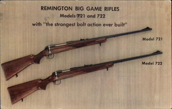Remington Big Game Rifles Hunting Advertising