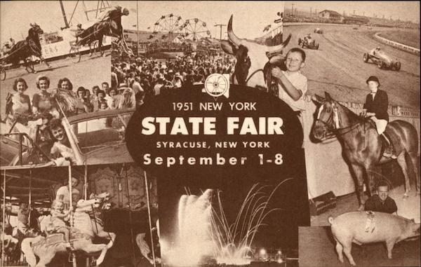 1951 New York State Fair Syracuse