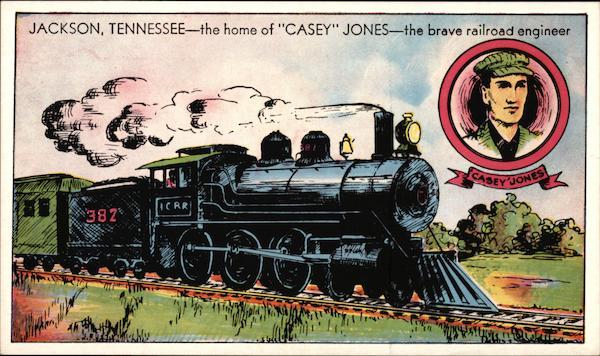 home  casey jones  brave railroad engineer jackson tn
