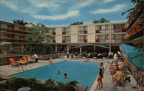 The Four Seasons Motor Hotel Toronto Canada Ontario