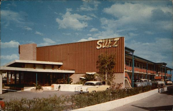 The Suez Motel Miami Beach Fl