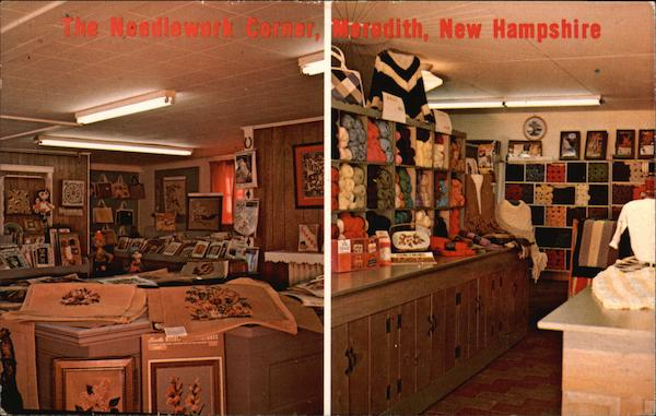 The Needlework Corner, Main Street Meredith New Hampshire