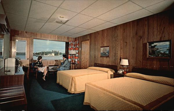 Capt. Thomson's Motor Lodge, 1000 Islands Alexandria Bay New York