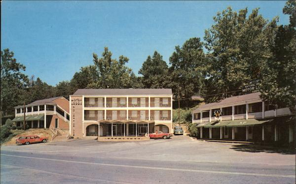 Quality Court Motor Lodge Office Building Natural Bridge Virginia