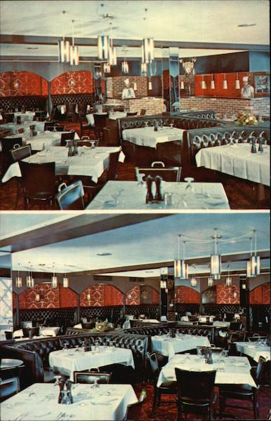 The Rib and Sirloin Room at Belle Meade Red Carpet Inn and Restaurant Harrisonburg Virginia