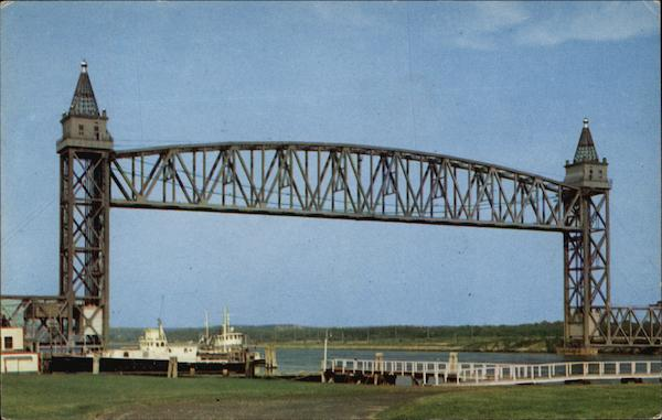 Railroad Bridge Over Cape Cod Canal Massachusetts