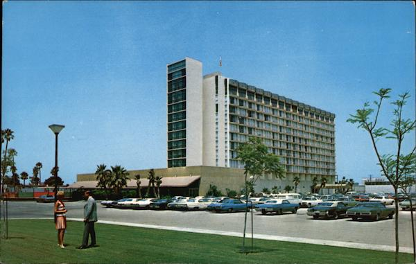 View of The Grand Hotel, Number One Hotel Way Anaheim California