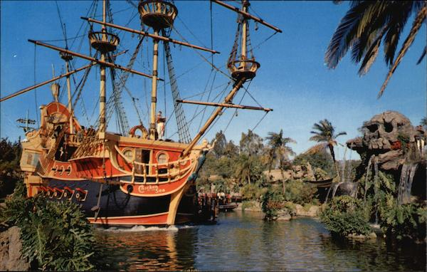Pirate Ship - Disneyland Anaheim California