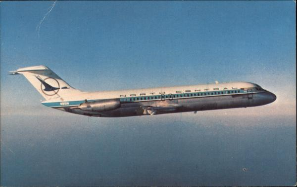 North Central Airlines' Douglas DC-9 Aircraft