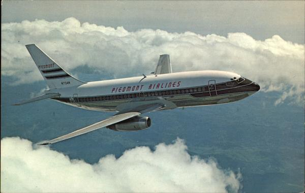 Piedmont Airlines 737 Pacemaker Aircraft