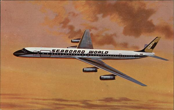 Seaboard World Airlines Aircraft