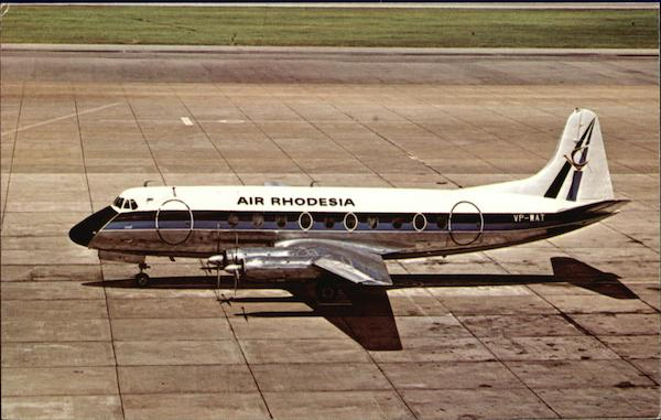 Air Rhodesia, Vickers Viscount 782 Aircraft
