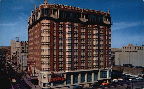 Mapes Hotel Reno, NV Postcard