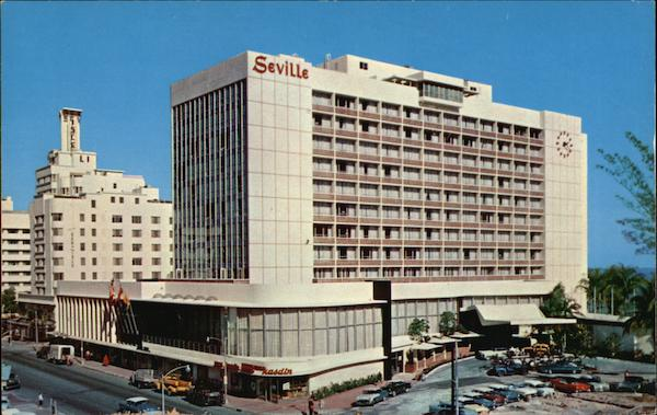 Hotels In Miami Beach >> Luxurious Seville Hotel on Collins Avenue Miami Beach, FL