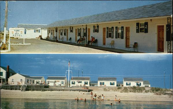 Fore 'N' Aft. Motel & Cottages Cape Cod Massachusetts