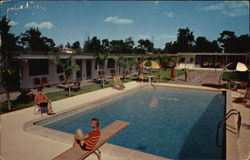 Elite Motel Postcard
