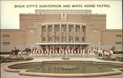 Sioux City's Auditorium and White Horse Patrol