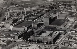 Aerial Photograph of The Floor Division Factory, Armstrong Cork Company