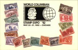 World Columbian Stamp Expo - May 22-31, 1992 Chicago