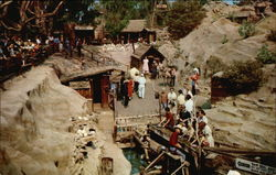 The Gold Mine in Ghost Town Knott's Berry Farm