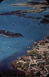 Aerial View of Christiansted Harbor