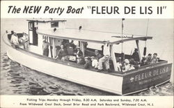 "The New Party Boat ""Fleur de Lis II"""