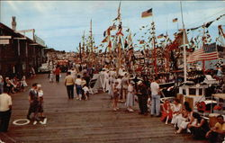 Gala Wharf Scene at Blessing of the Fleet