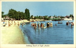 Bathing Beach at Eagle Harbor