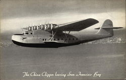 The China Clipper Leaving San Francisco Bay