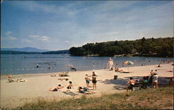 Weirs Beach and Endicott Rock
