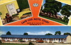 Cape Cod Motel Court, Hwys. N.Y. 5 & U.S. 20