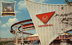 The Monorail - New York World's Fair 1964-1965