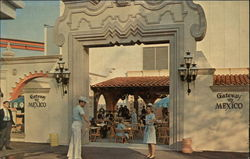 Gateway to Mexico Patio, The Texas Pavilion