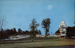 Duke Motor Lodge Postcard