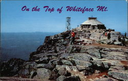On the Top of Whiteface Mountain Postcard